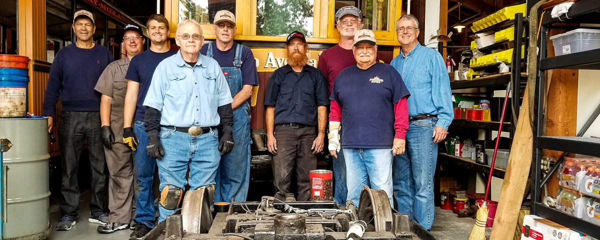 Poway-Midland Railroad Volunteers