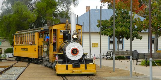 Poway Midland Railroad Train Station 3