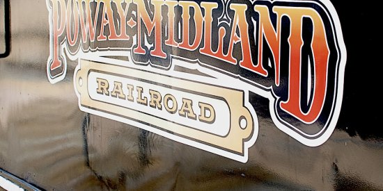 Poway Midland Railroad Train Logo