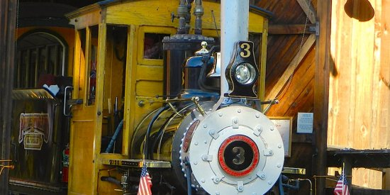 Poway Midland Railroad Train – Xmas