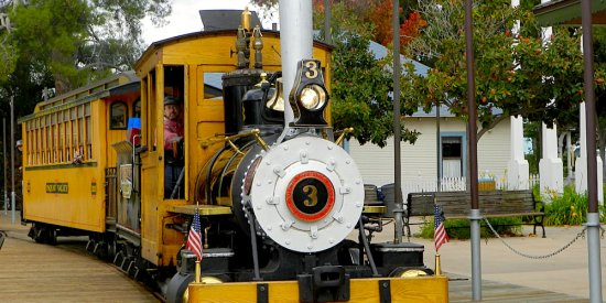 Poway Midland Railroad Train Station 4