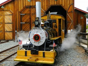 Steam Locomotive @ Poway-Midland Railroad