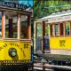 Los Angeles Yellow Line Trolley Car